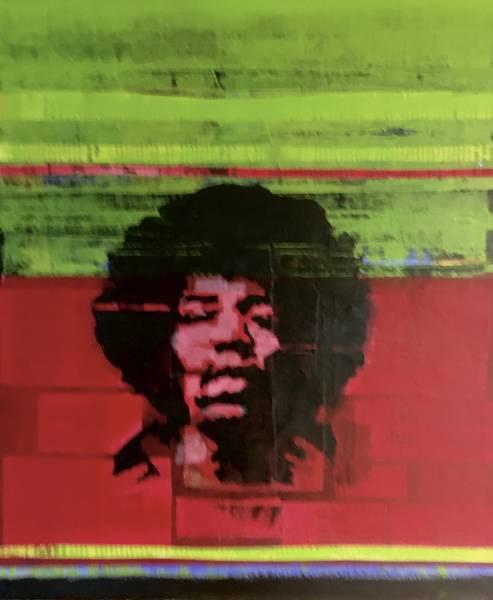 Bilde av Turid Bjørnsen - Jimi Hendrix
